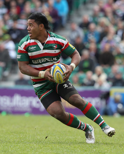 Leicester Centre Manu Tuilagi Is Tackled: Manu Tuilagi Just One In A Long Line Of Leicester Fighters