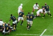 Both England and South Africa were counting the bruises after a physical encounter at Twickenham. Photo: John Evely